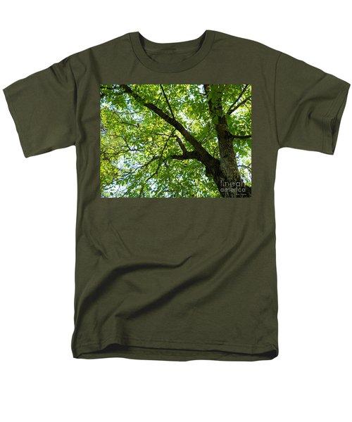Men's T-Shirt  (Regular Fit) featuring the photograph Green by Ramona Matei
