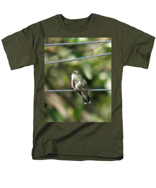 Men's T-Shirt  (Regular Fit) featuring the photograph Grooming Hummer by Nick Kirby
