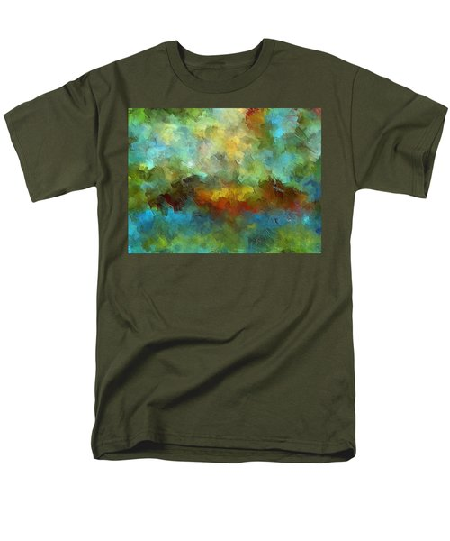 Grotto Men's T-Shirt  (Regular Fit) by Ely Arsha
