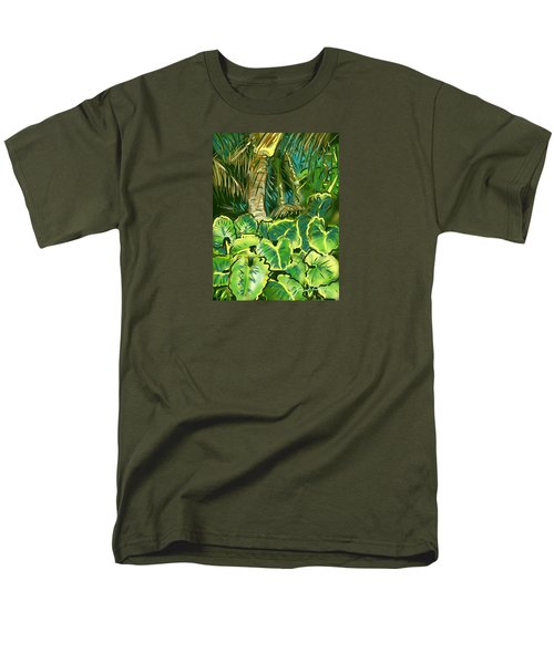 Men's T-Shirt  (Regular Fit) featuring the painting Guanabana Tropical by Jean Pacheco Ravinski