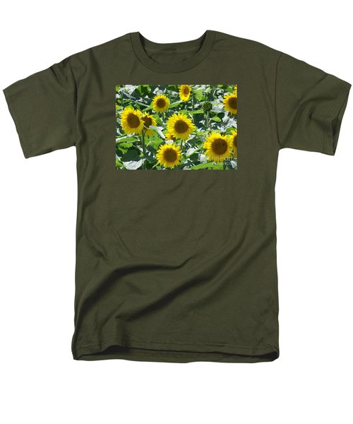 Men's T-Shirt  (Regular Fit) featuring the photograph Happy Faces by Jackie Mueller-Jones