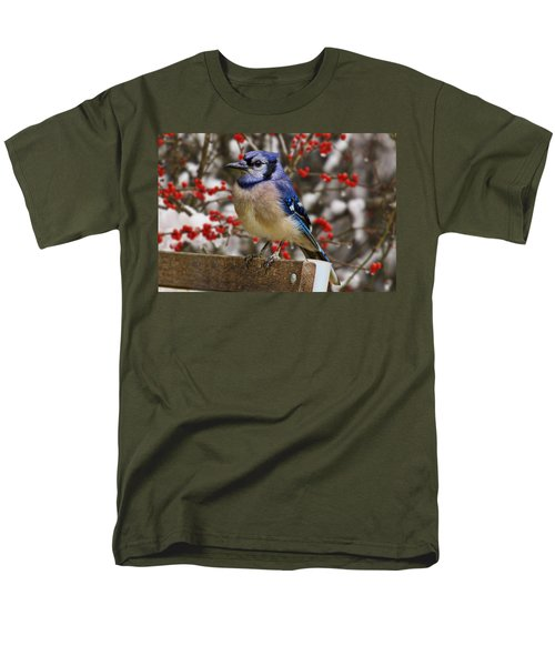 Happy Holidays Men's T-Shirt  (Regular Fit) by Gary Holmes