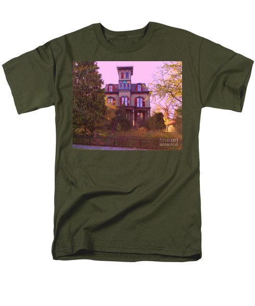 Men's T-Shirt  (Regular Fit) featuring the photograph Hauntingly Victorian 1 by Becky Lupe