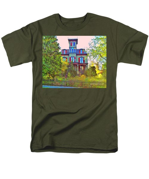Men's T-Shirt  (Regular Fit) featuring the photograph Hauntingly Victorian  by Becky Lupe