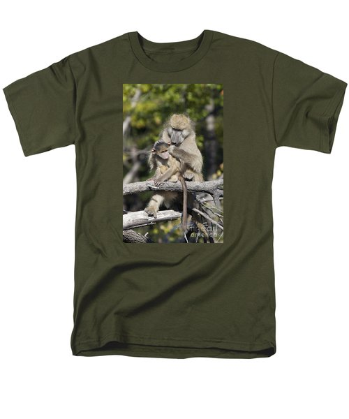 Men's T-Shirt  (Regular Fit) featuring the photograph Have You Cleaned Behind Your Ears by Liz Leyden
