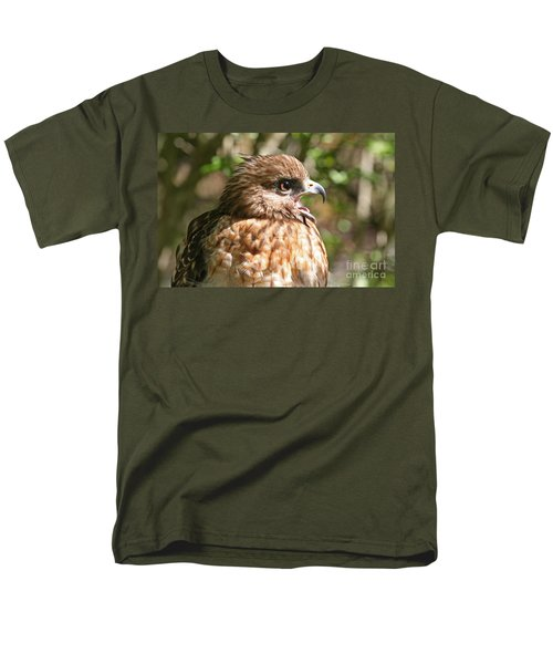 Hawk With An Attitude Men's T-Shirt  (Regular Fit) by Kevin McCarthy