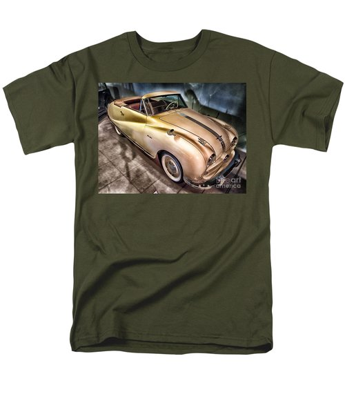 Men's T-Shirt  (Regular Fit) featuring the photograph Hdr Classic Car by Paul Fearn