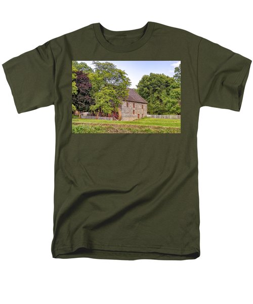 Men's T-Shirt  (Regular Fit) featuring the photograph Herr's Mill by Jim Thompson