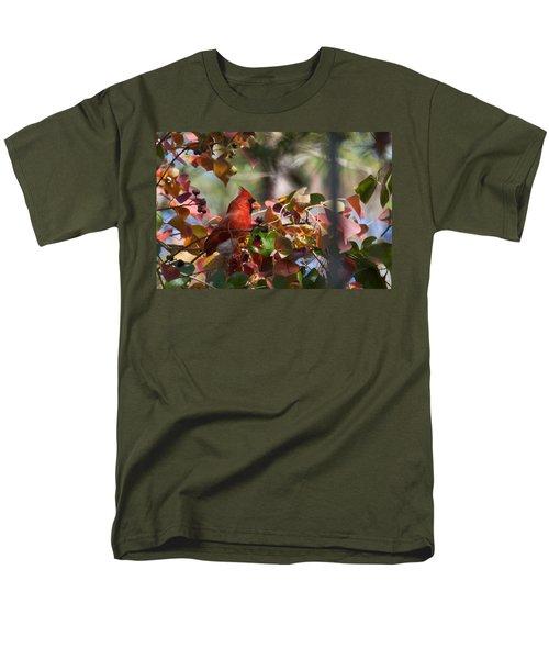 Hiding Away Men's T-Shirt  (Regular Fit) by Linda Unger