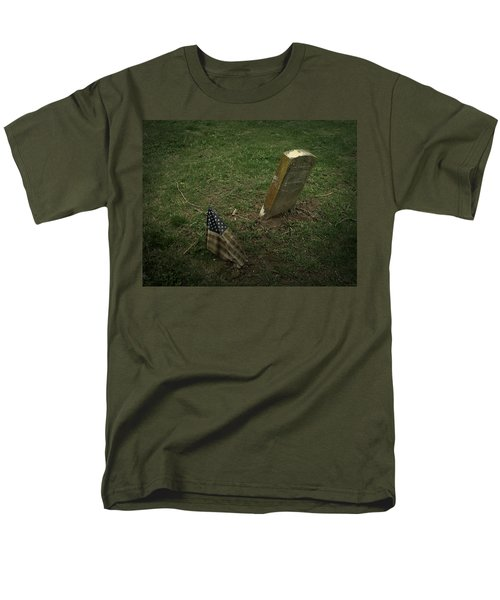 Men's T-Shirt  (Regular Fit) featuring the photograph Remembered by Cynthia Lassiter