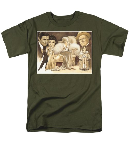 Hollywoods Golden Era Men's T-Shirt  (Regular Fit) by Dick Bobnick