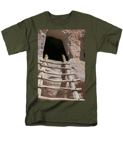 Home In Frijoles Canyon Men's T-Shirt  (Regular Fit) by Lynn Sprowl