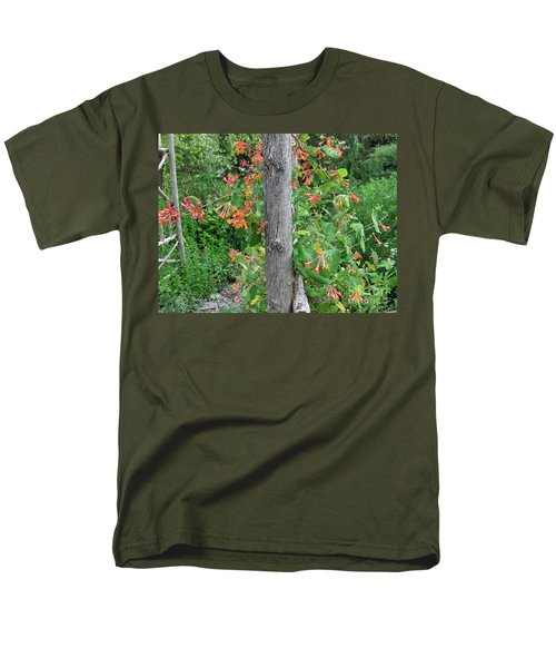 Honeysuckle's Friend Men's T-Shirt  (Regular Fit) by Brenda Brown