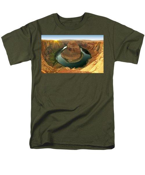 Horseshoe Men's T-Shirt  (Regular Fit) by David Andersen
