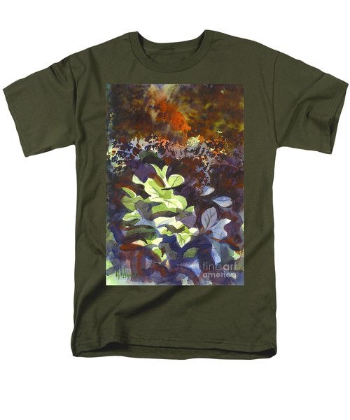 Hostas In The Forest Men's T-Shirt  (Regular Fit) by Kip DeVore