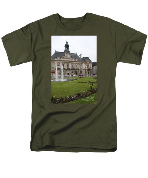 Hotel De Ville - Tours Men's T-Shirt  (Regular Fit) by Christiane Schulze Art And Photography