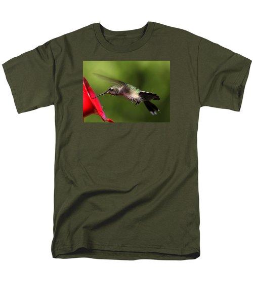 Look Hummer Eyelashes Men's T-Shirt  (Regular Fit) by Reid Callaway