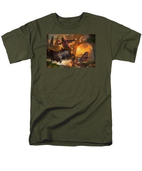 Hunt The Hunter Men's T-Shirt  (Regular Fit) by Ryan Barger