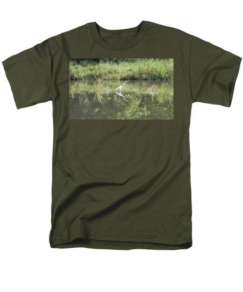 Hunter Reflected 2 Men's T-Shirt  (Regular Fit) by Mark Minier
