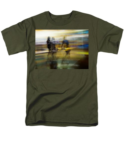 Men's T-Shirt  (Regular Fit) featuring the photograph I Had A Dream That You And Your Friends Were There by Alex Lapidus
