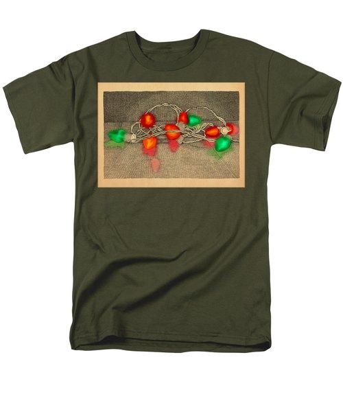 Illumination Variation #4 Men's T-Shirt  (Regular Fit) by Meg Shearer