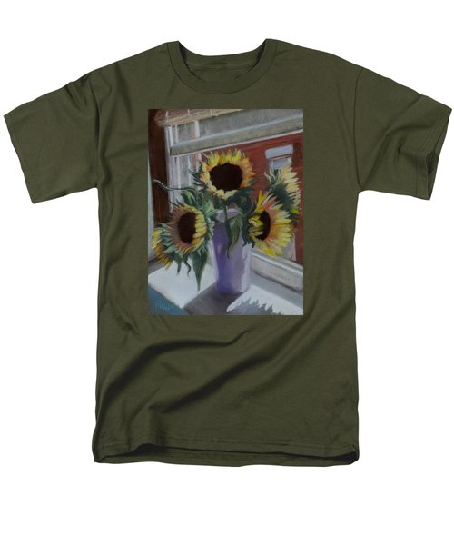 Men's T-Shirt  (Regular Fit) featuring the pastel Illumine by Pattie Wall