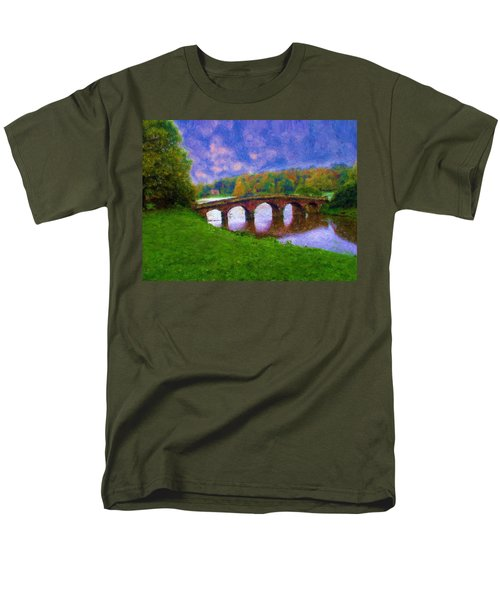 Impressions Of Stourhead Men's T-Shirt  (Regular Fit) by Ron Harpham