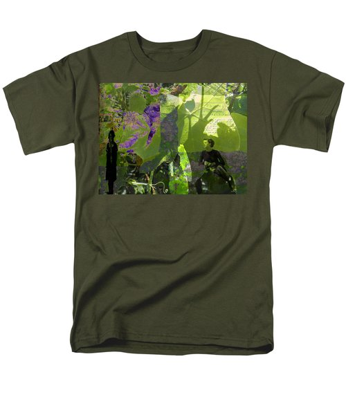 Men's T-Shirt  (Regular Fit) featuring the digital art In A Dream by Cathy Anderson
