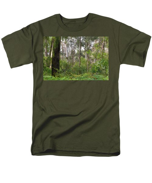 Men's T-Shirt  (Regular Fit) featuring the photograph In The Bush by Evelyn Tambour