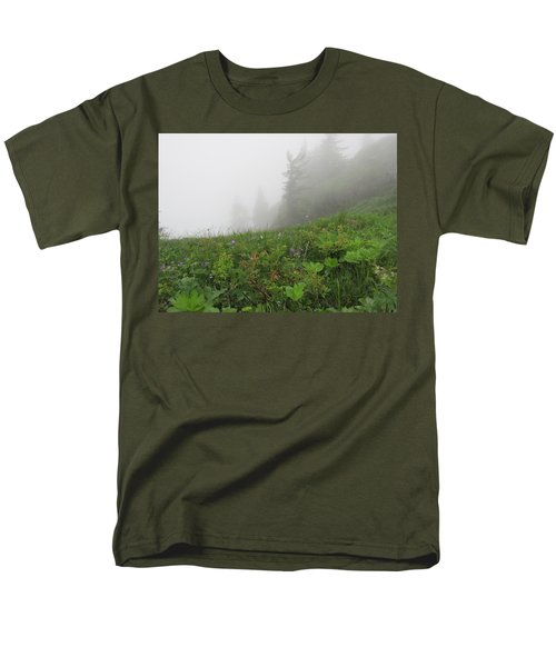 Men's T-Shirt  (Regular Fit) featuring the photograph In The Mist - 1 by Pema Hou