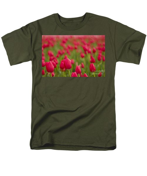 Men's T-Shirt  (Regular Fit) featuring the photograph Seeing Red by Nick  Boren
