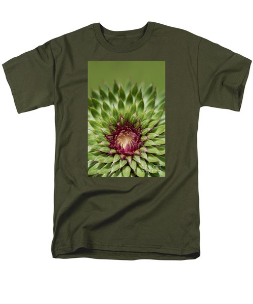 In Thistle's Heart Men's T-Shirt  (Regular Fit) by Simona Ghidini
