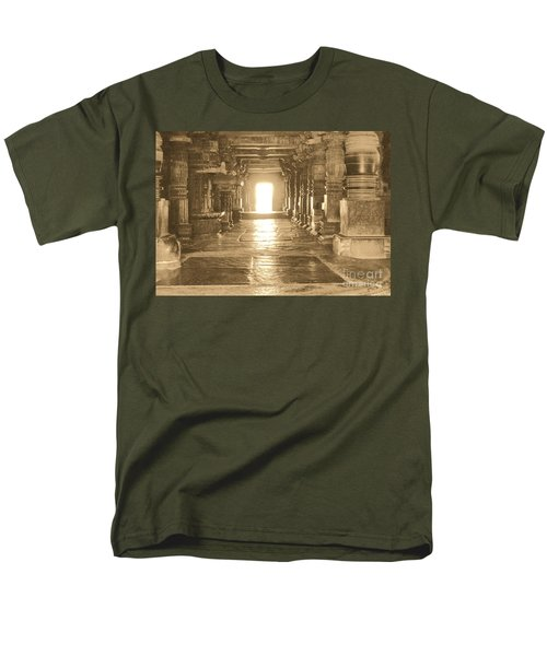 Men's T-Shirt  (Regular Fit) featuring the photograph Indian Temple by Mini Arora