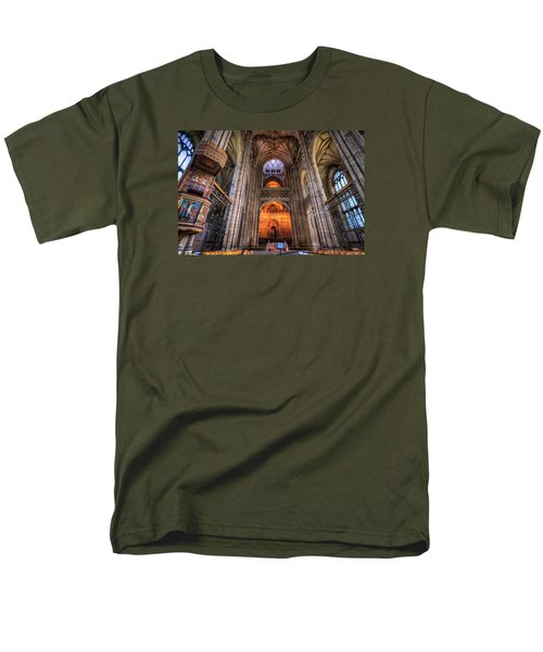 Inside Canterbury Cathedral Men's T-Shirt  (Regular Fit) by Tim Stanley
