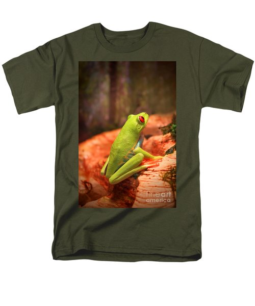 Inspirations For Tomorrow Men's T-Shirt  (Regular Fit) by Cathy  Beharriell