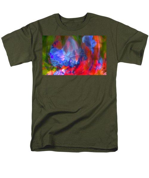 Men's T-Shirt  (Regular Fit) featuring the digital art Interior by Richard Thomas