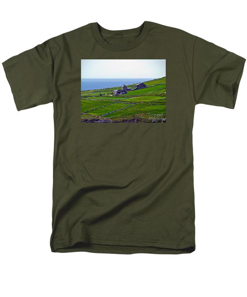 Irish Farm 1 Men's T-Shirt  (Regular Fit) by Patricia Griffin Brett