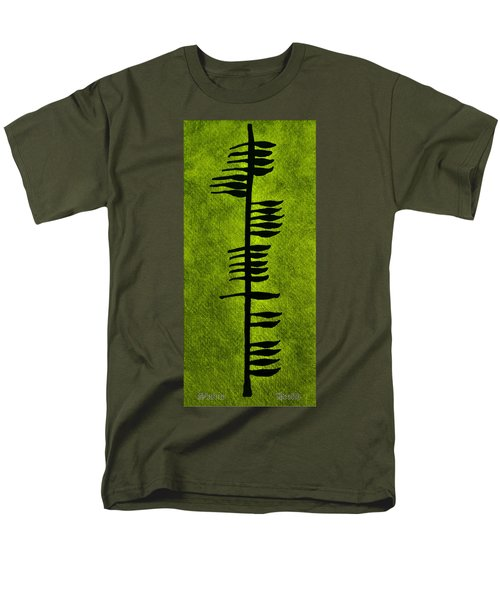 Irish Ogham Meaning Health Men's T-Shirt  (Regular Fit) by LeeAnn McLaneGoetz McLaneGoetzStudioLLCcom