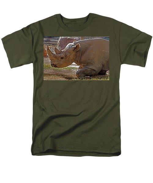 Its My Horn Not Your Medicine Men's T-Shirt  (Regular Fit) by Miroslava Jurcik