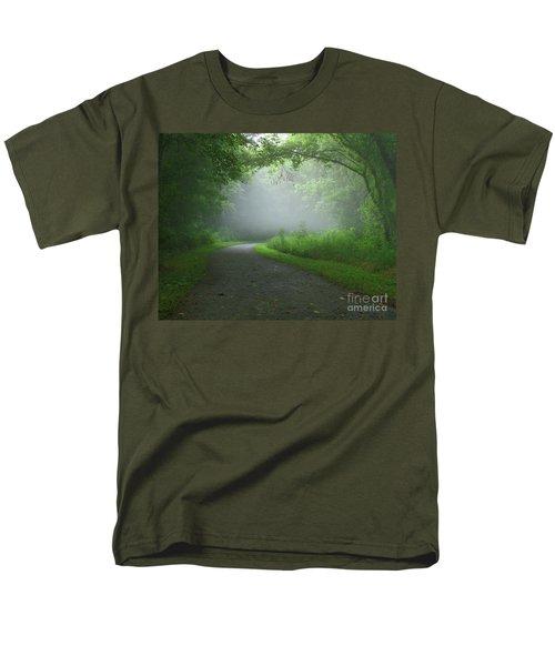 Mystery Walk Men's T-Shirt  (Regular Fit)