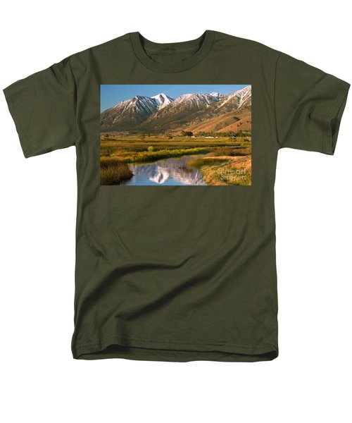 Job's Peak Reflections Men's T-Shirt  (Regular Fit)