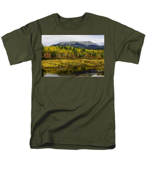 Katahdin Baxter State Park Maine Men's T-Shirt  (Regular Fit)