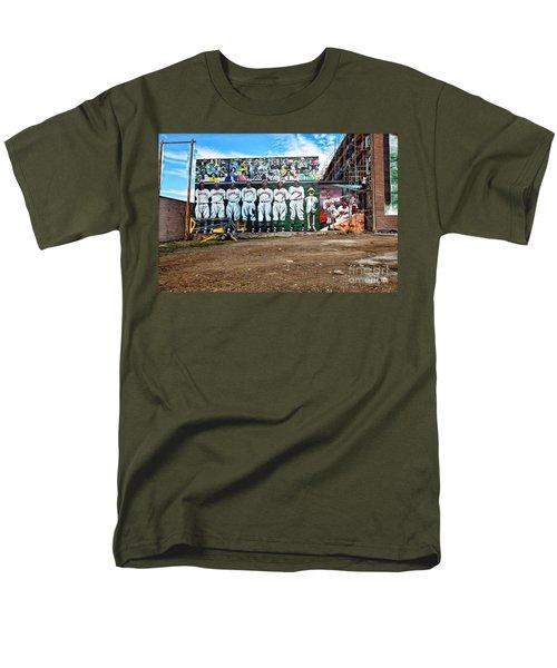 Kc Monarchs - Baseball Men's T-Shirt  (Regular Fit) by Liane Wright