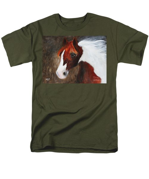 Men's T-Shirt  (Regular Fit) featuring the painting Kidden by Barbie Batson