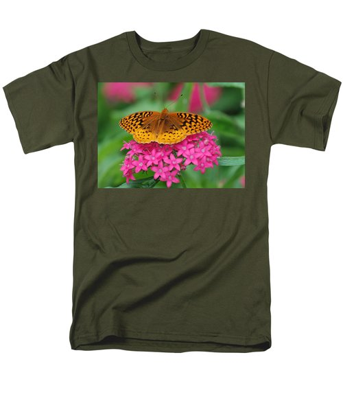 Men's T-Shirt  (Regular Fit) featuring the photograph Kim's Bosom Buddies Support by Richard Bryce and Family