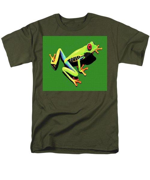Kiss Me Men's T-Shirt  (Regular Fit) by Sophia Schmierer