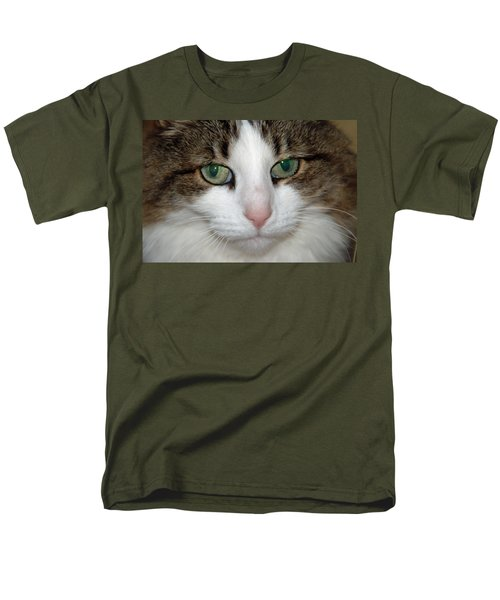 Men's T-Shirt  (Regular Fit) featuring the photograph Kitty by Aimee L Maher Photography and Art Visit ALMGallerydotcom