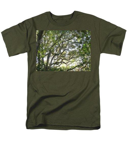 Knarly Oak Men's T-Shirt  (Regular Fit) by Ellen Meakin