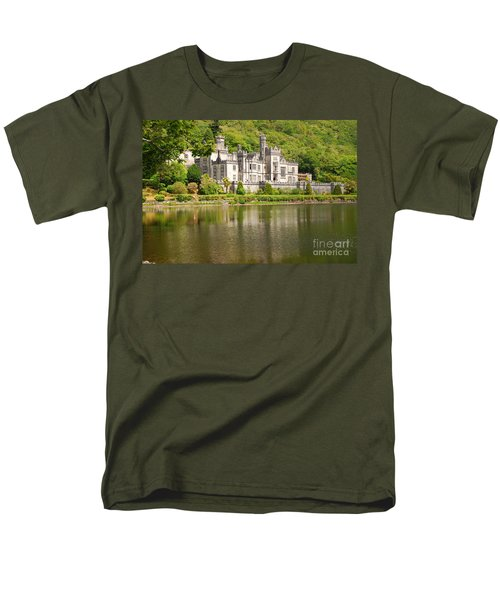 Kylemore Abbey 2 Men's T-Shirt  (Regular Fit) by Mary Carol Story