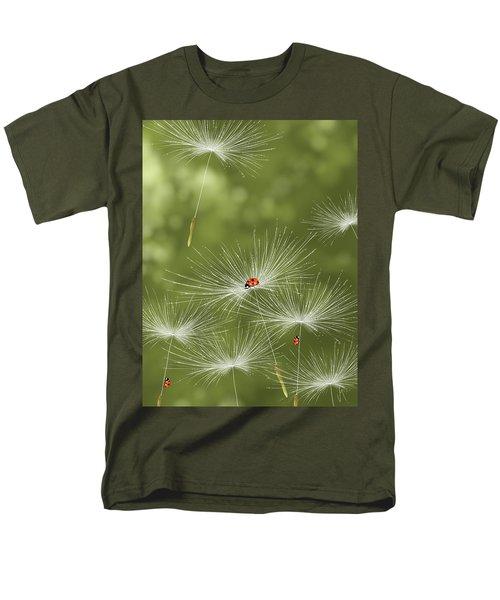 Ladybug Men's T-Shirt  (Regular Fit) by Veronica Minozzi